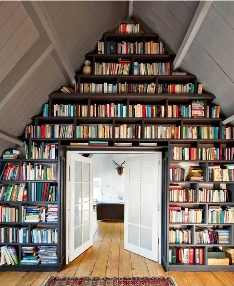 home library decor
