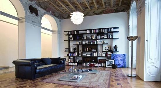 home library decor