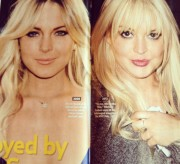 Lindsay Lohan's New Face