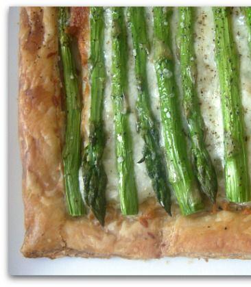 Easy Asparagus Gruyere Tart Recipe