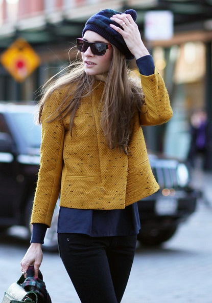 mustard yellow blazer jacket coat women's