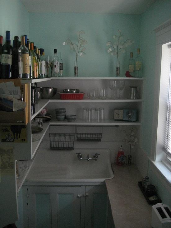 tiny small kitchen decor