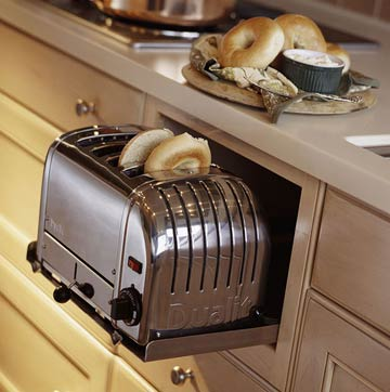 space saving toaster