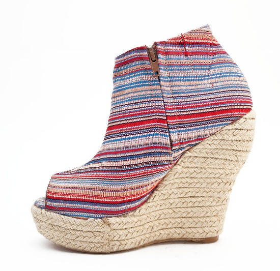 multi-color wedges