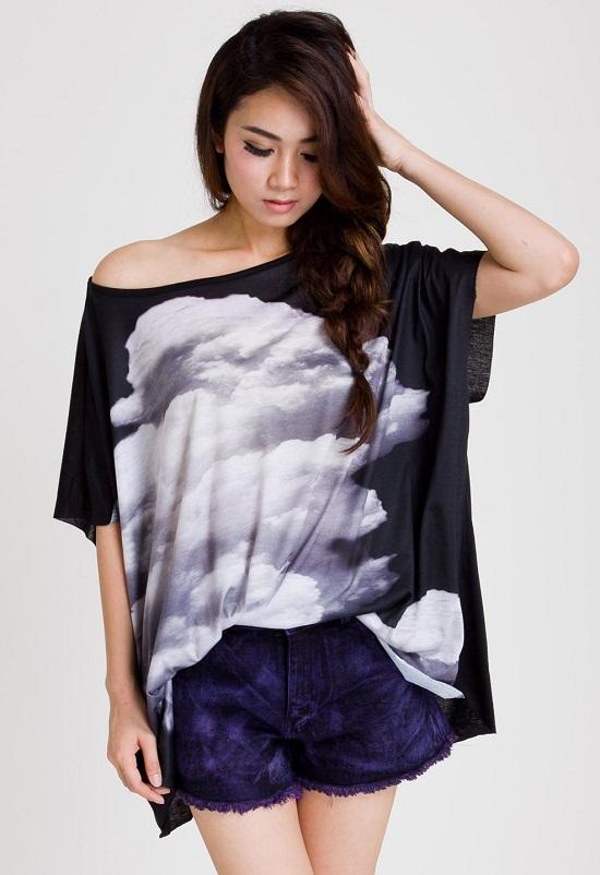 oversized blouse shirt women's