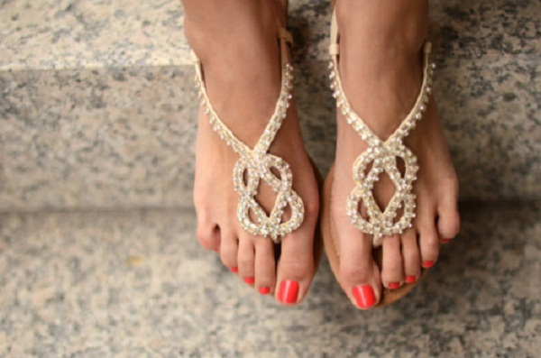 studded sandals fashion