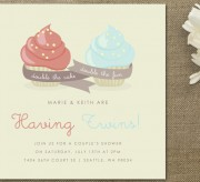 Baby Shower Invitations Mint