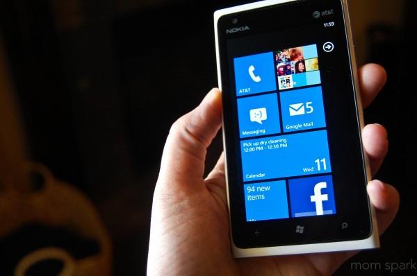 Windows Phone 3 Nokia Lumia
