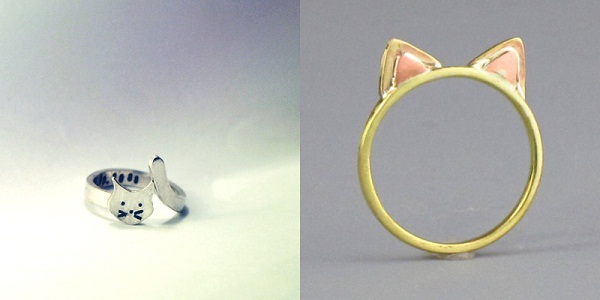 cat ring fashion