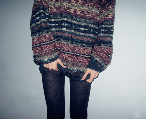 sweater tights fall fashion