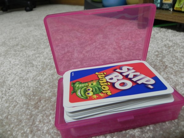 Soapbox as Card Organizer