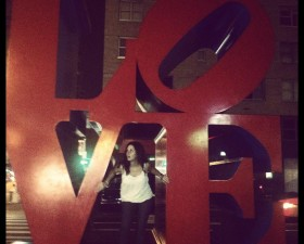 Love NYC Sign