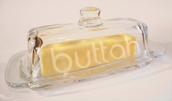 DIY: Modern Glass Etching Butter momspark.net