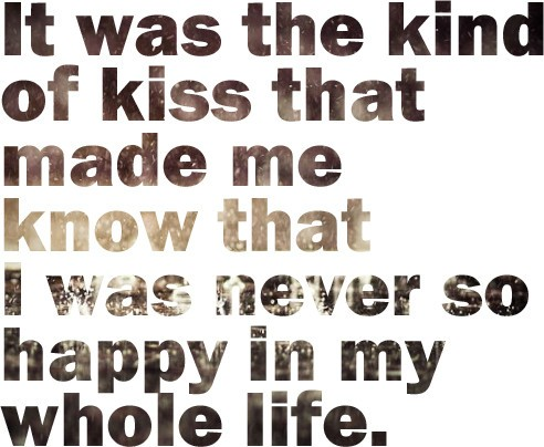 quotes about kissing
