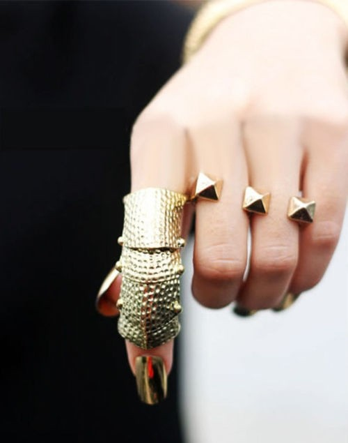 gold jewelry rings