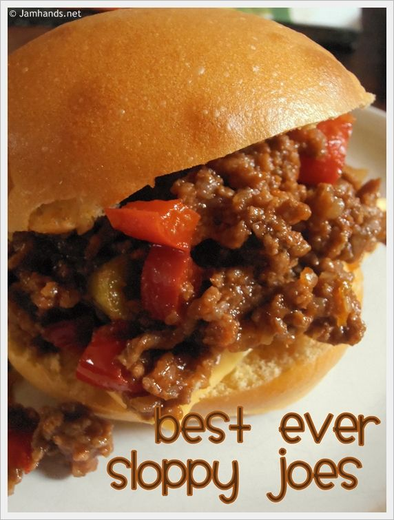 No-brainer Recipe: Easy Sloppy Joes