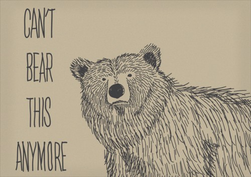 grin and bear it quotes