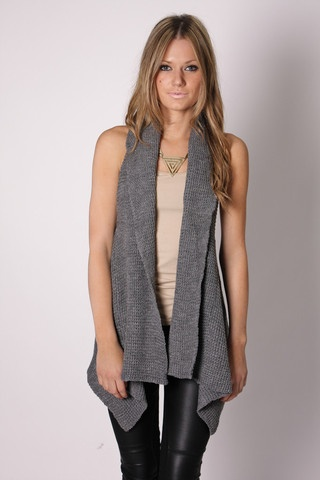 Knit Vest Women's Fashion