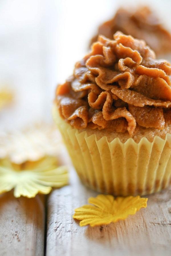 pumpkin pie cupcake dessert recipe