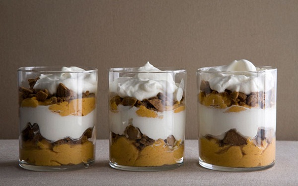 pumpkin pie parfait recipe