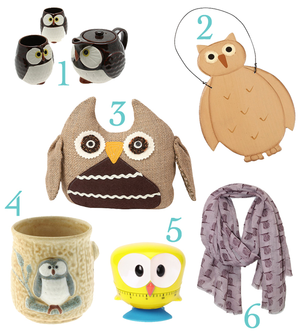 owl decor zulily