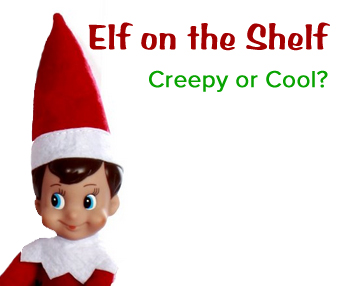 Elf on the Shelf Creepy or Cool momspark.net