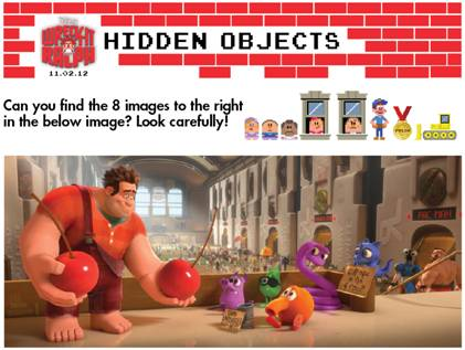 Wreck it Ralph Activity Sheets
