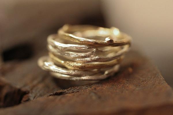 Twig Rings