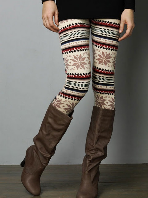 Holiday Printed Leggings