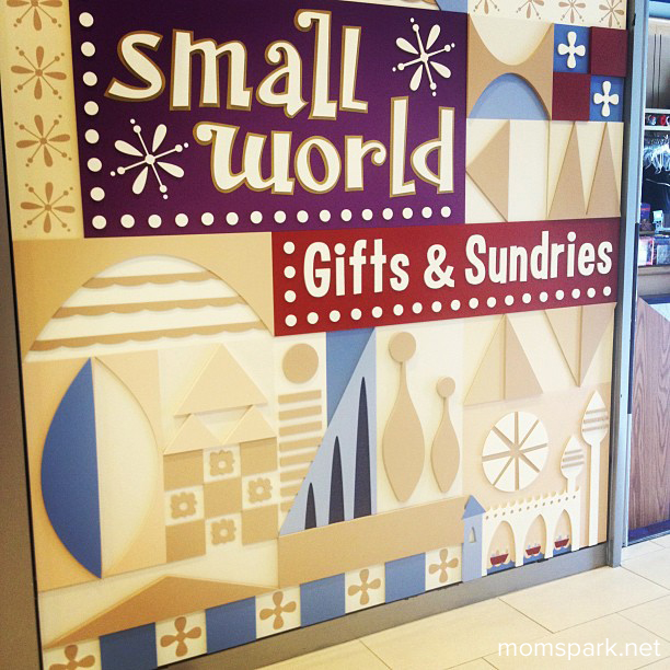Disneyland Hotel Store Small World momspark.net