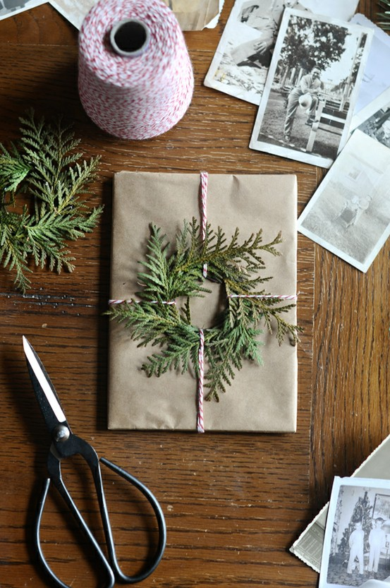 DIY Wrapping for Christmas