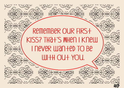 first kisses quotes