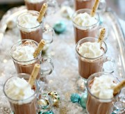 Mini Hot Chocolates Holiday Entertaining