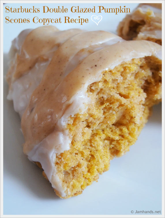 Pumpkin Scones Double Glazed Pumpkin Scones Copycat Recipe momspark.net