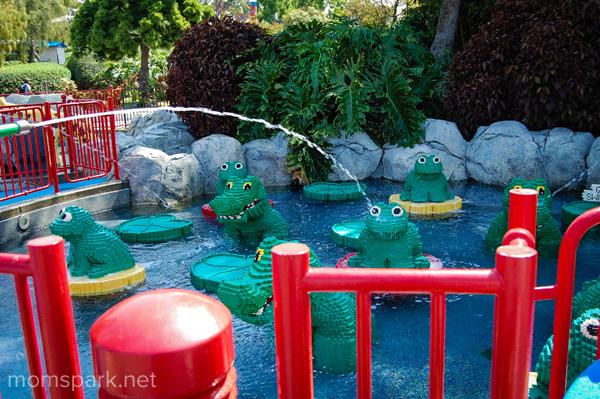 Legoland Frog Water Pond momspark.net