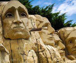 Legoland Mount Rushmore