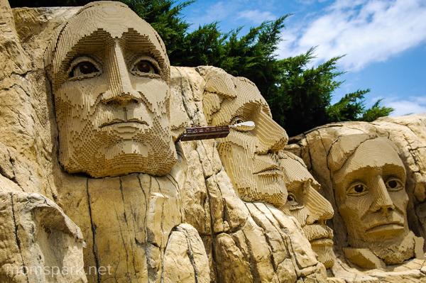 Legoland Mount Rushmore momspark.net