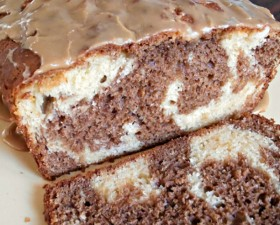 Mocha Swirl Bread with Espresso Glaze Recipe