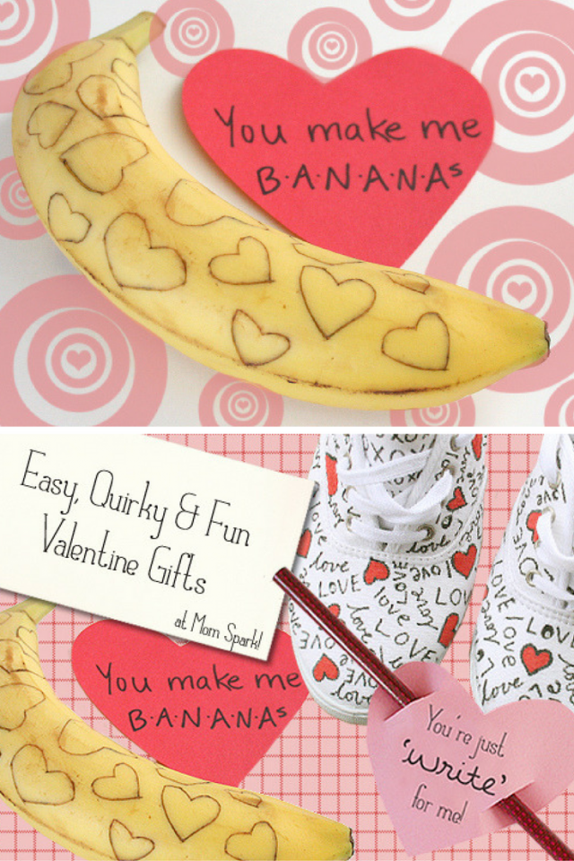Easy, Quirky and Fun Valentine Gifts