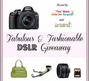 Nikon D3100 or Canon EOS Rebel T3 DSLR Camera Bundle Giveaway