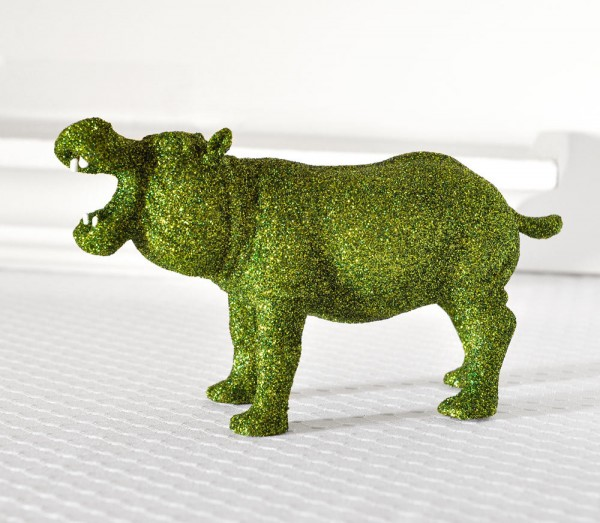 Cool Finds: Glitter Critters Handmade Hippo