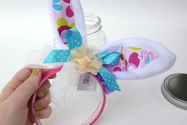 Somebunny Special Gift Jars - Easter Craft Tutorial momspark.net