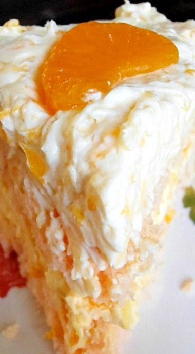 Coconut Orange Dessert Cake Recipe - When I spotted this adorable cake over at Sweet Tea and Cornbread I knew it would be perfect for Easter. Orange and coconut go so well together in this delicious and pretty layered cake. My special tool for layered cakes is to use a Cake Leveler. It is simple to use and it creates a nice, flat surface for you to build up your layers.  One thing to note is that it is important to use instant vanilla pudding and not cook and serve pudding. Using cook and serve style will make a very runny frosting. Many thanks to Sweet Tea and Cornbread for the recipe. Enjoy!