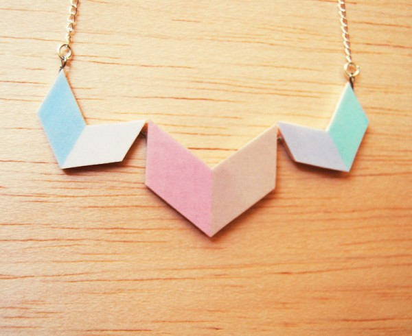 Pastel Chevron Jewelry