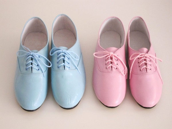 pastel shoes for Easter