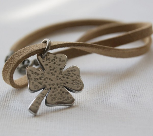 Etsy Your St. Patrick's Day Gifts - Four Leaf Clover Charm