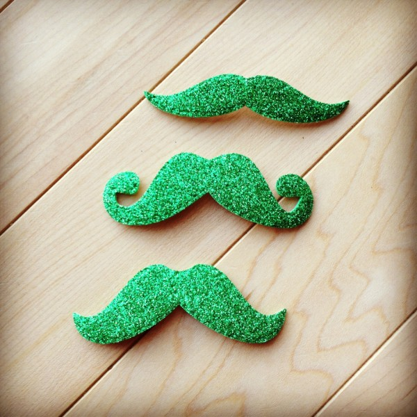 Etsy Your St. Patrick's Day Gifts - Green Mustaches