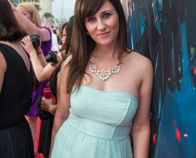 Amy Bellgardt Red Carpet Iron Man 3 Premiere