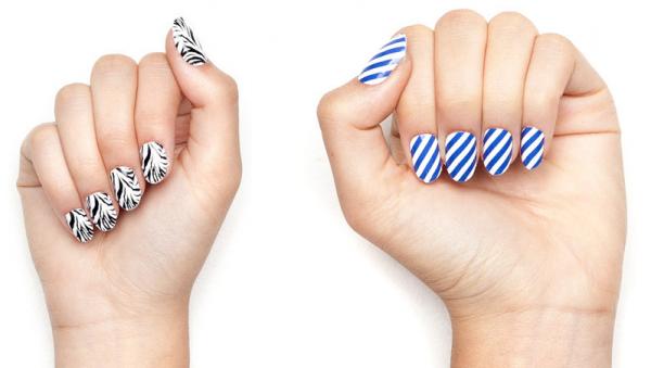Nail Wrap Style