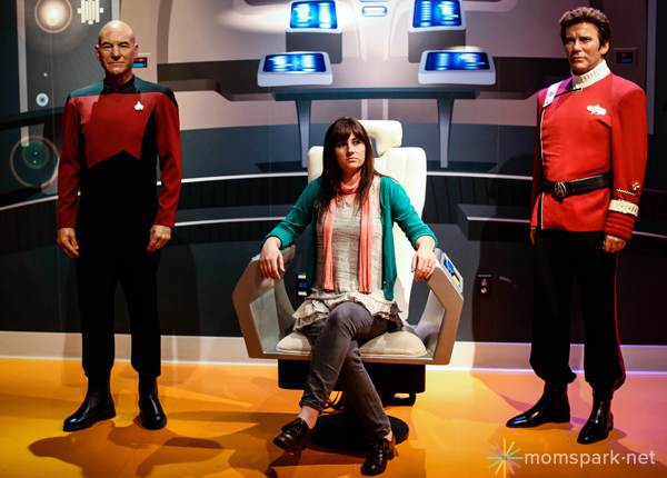 Star Trek Wax Figure Madame Tussauds Hollywood